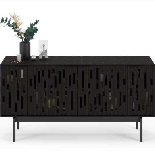 Code 7376 Media Cabinet & Storage Console | BDI Furniture Ebonized Ash 1