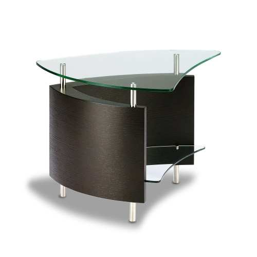 Fin 1110 Modern Glass End Table ES
