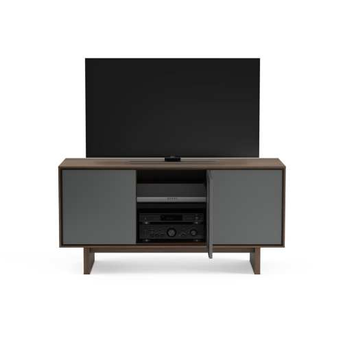 Octave Media Cabinet 8377 Toasted Walnut 2