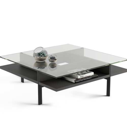 Terrace Square Coffee Table 1150 Charcoal