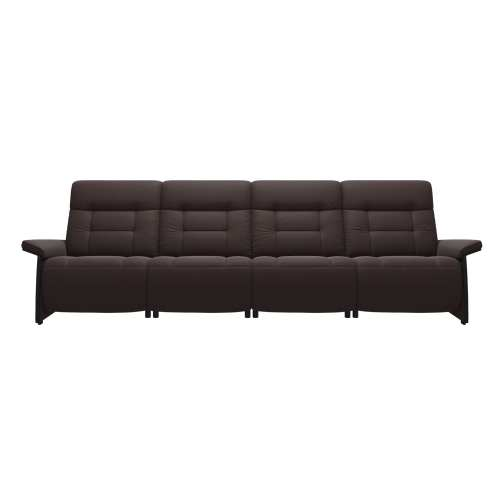 Mary 4 Seater Power Sofa Wood 4