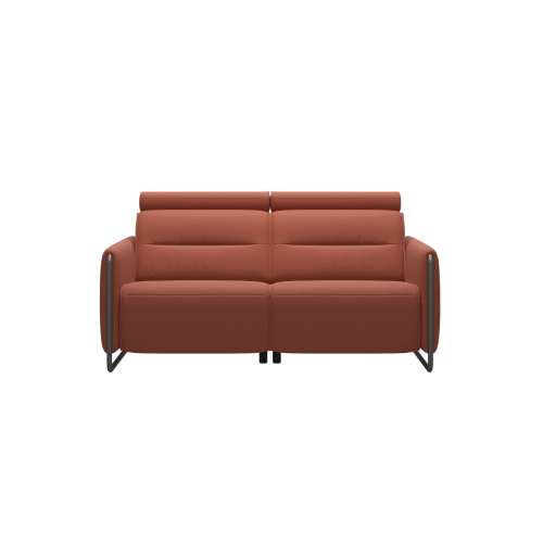 Emily Steel 2 Seater Power Loveseat 3