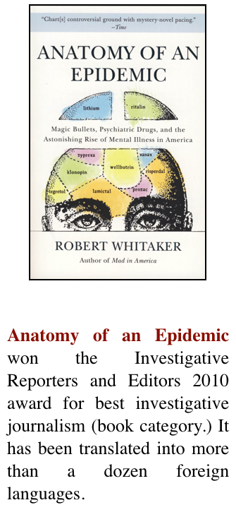 Author Robert Whitaker Books