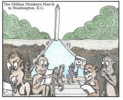 The Million Monkey March