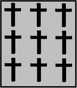 Nine More Crosses