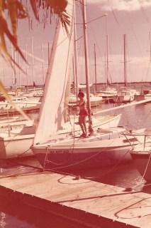 Keola sailboat dock