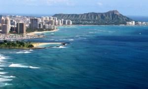 Diamond Head Waikiki Beach