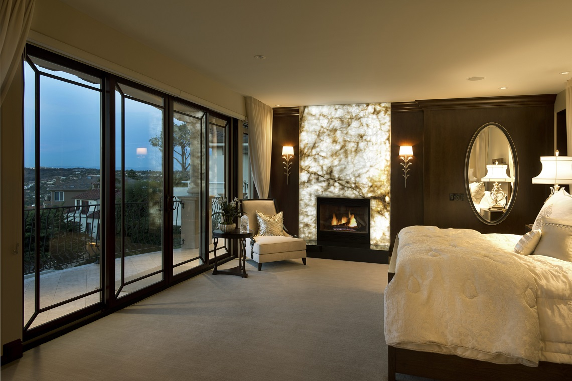 La Jolla Luxury Master Bedroom Before And After Robeson Design