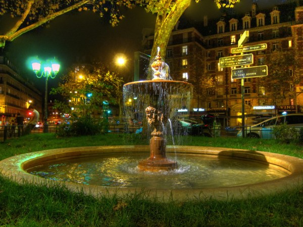 Maubert Fountain HDR