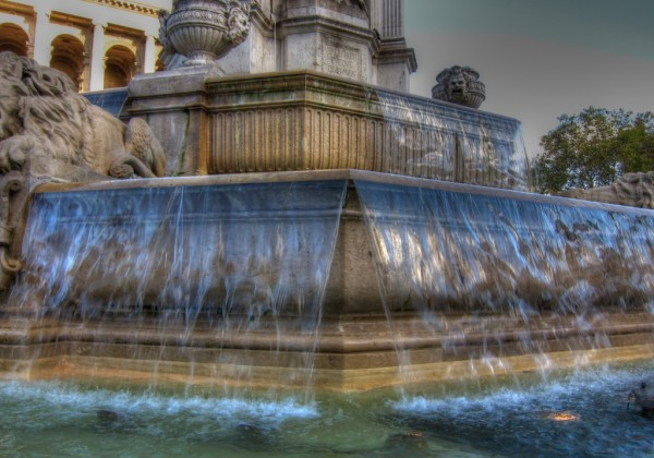 Saint Sulpice Fountain HDR