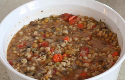 Lentil Barley Soup Robfelty Com
