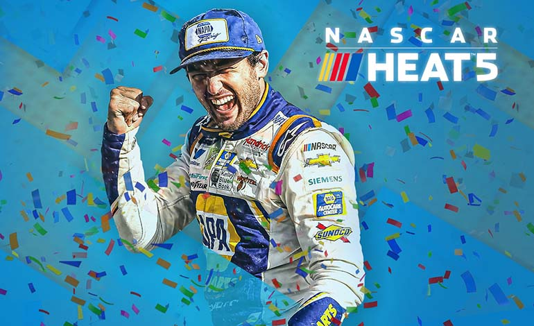 NASCAR Heat 5 Feature Image - Robgamers.com