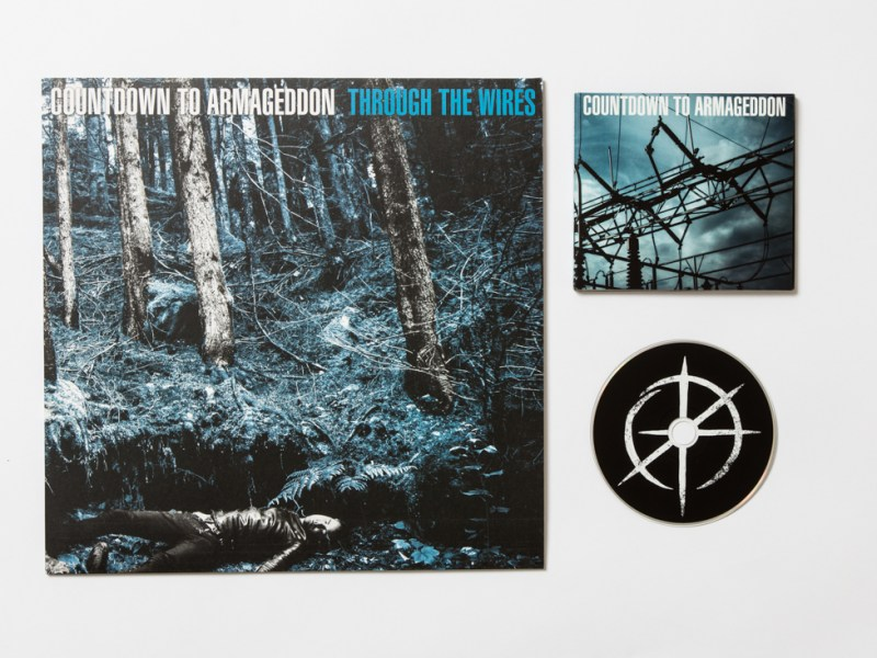Countdown to Armageddon – Through the Wires LP/CD