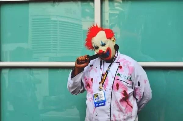 killer clown arrested