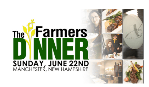 The Farmers Dinner at XO in Manchester, June 22.