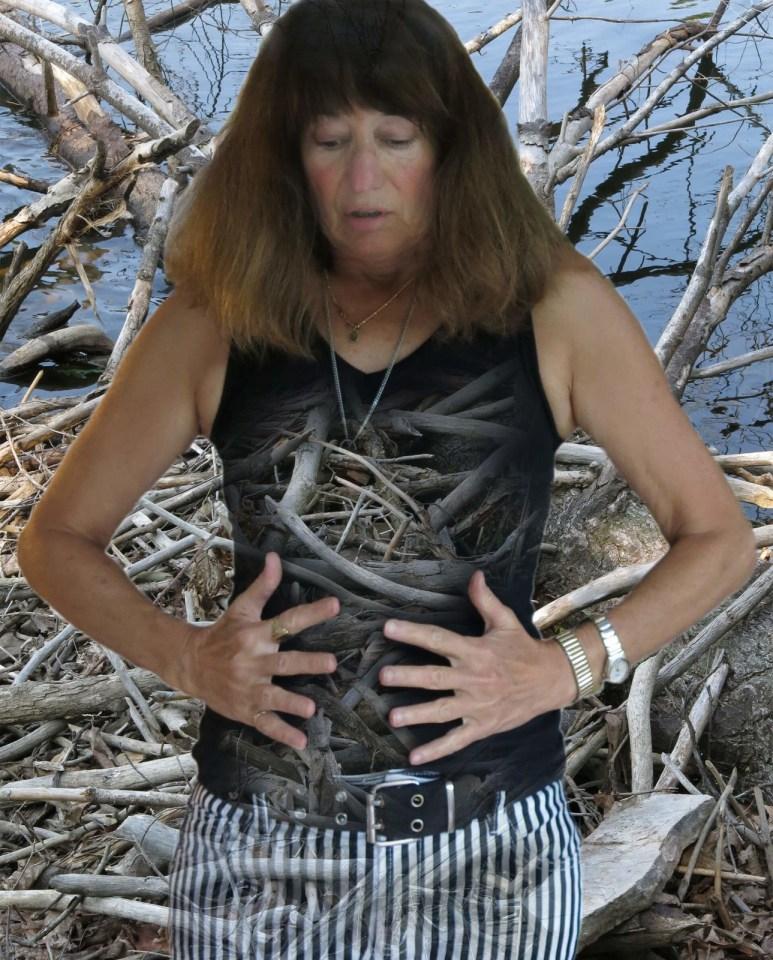 Robin Botie in Ithaca, New York, letting go of inner anger