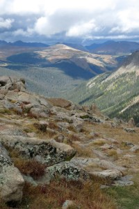 Yellow for Courage - Robin Botie of Ithaca, New York, photographs on vacation in the Rocky Mountains
