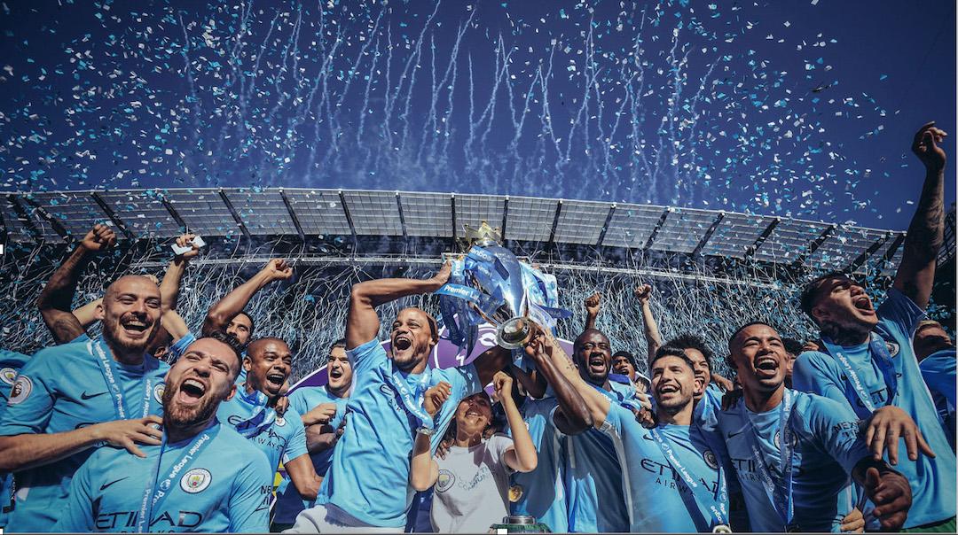 Premier League Trophy Presentation