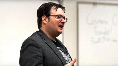 Currently watching: Brandon Sanderson's free online writing course