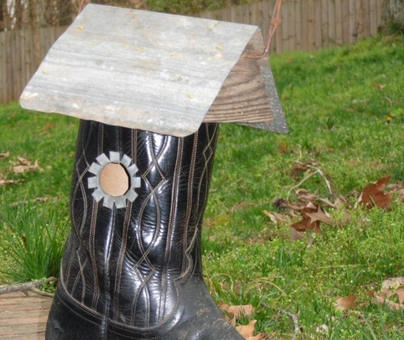 These boots aren't made for walkin'…anymore || For my father, with love