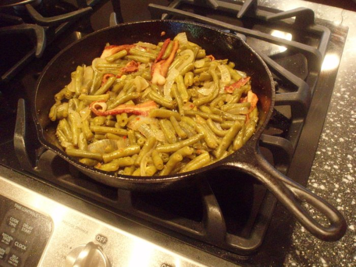 Sweet and Sour Green Beans
