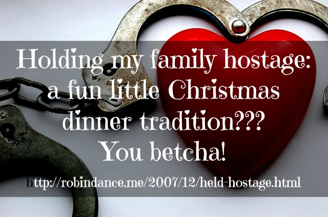 A FUN, family Christmas Dinner Tradition - RobinDance.me