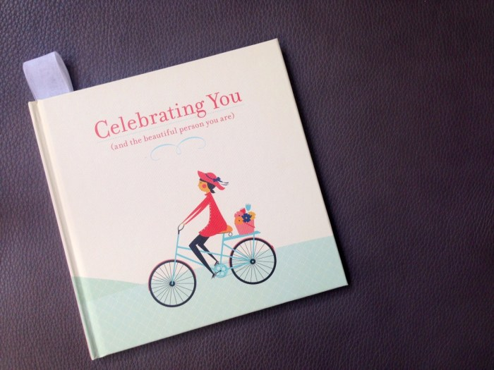 Celebrating You book - image by Robin Dance