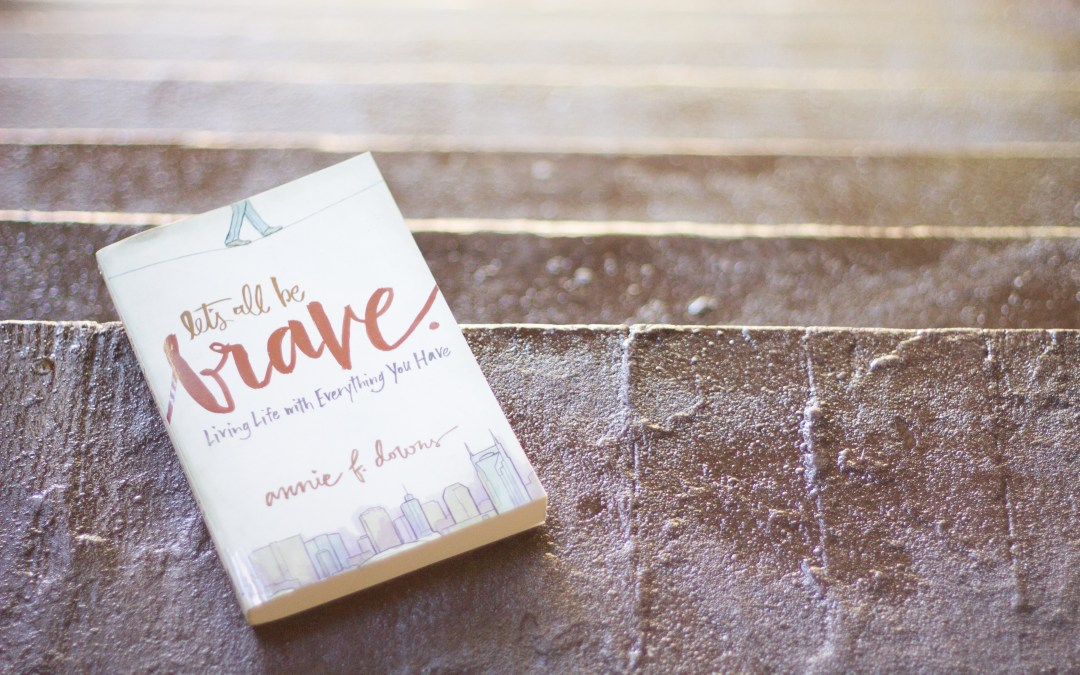 Join me! {Let's All Be Brave for #inbooks}