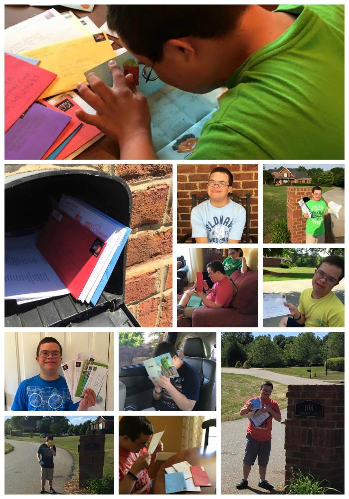 Caleb's Mailbox