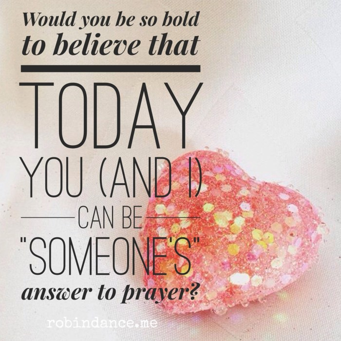 You are an answer to prayer - GivingTuesday