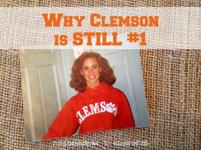 1981 Freshman Clemson picture