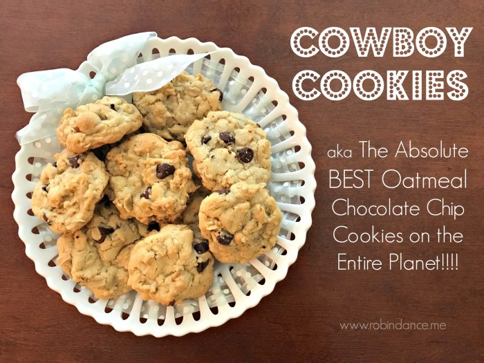 Cowboy Cookie Recipe - Robin Dance-2