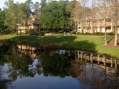 Strolling along the Sassagoula River to our room was a relaxing way to begin and end each day.