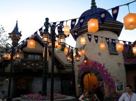 Not to miss is the Rapunzel Restroom area … never has a restroom been so quaint!