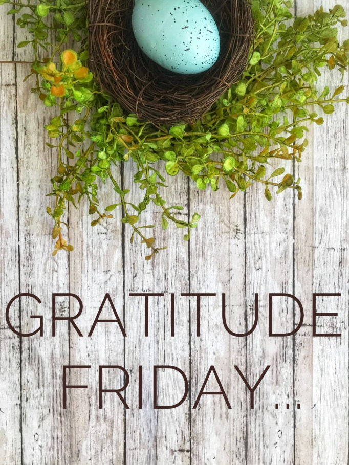 Gratitude Friday SO THAT
