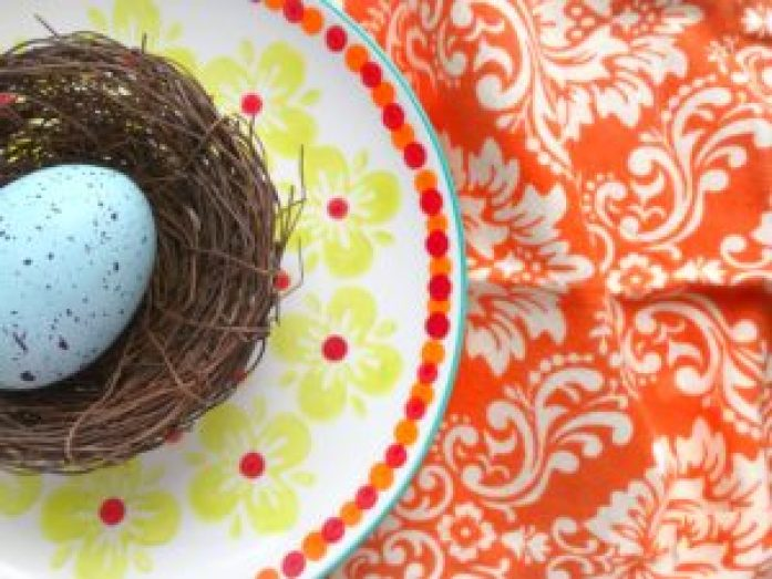 Orange Modern Nest
