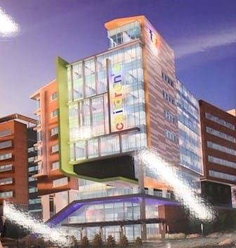 Women and Children's Tower Groundbreaking at Ruby Memorial Hospital in Morgantown