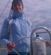 Robin G Coles, marine enthusiast and content marketing writer at the Helm on Tartan Sailboat