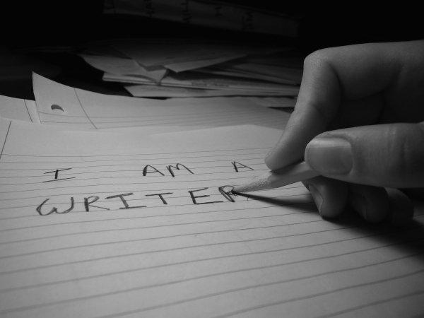 Writer Scared Write