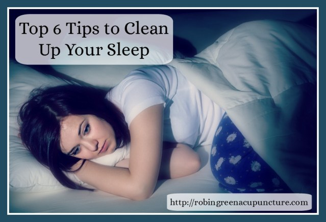 top 6 tips to clean up yours sleep