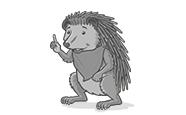 Scarlet the hedgehog