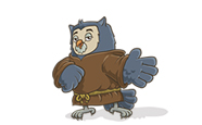 Tuck the owl