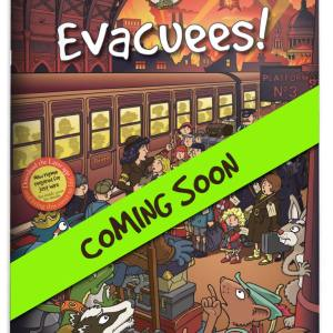 Book cover for story 2 'Evacuees' - coming soon