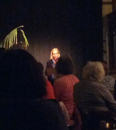 Charlotte Gann at the Redroaster
