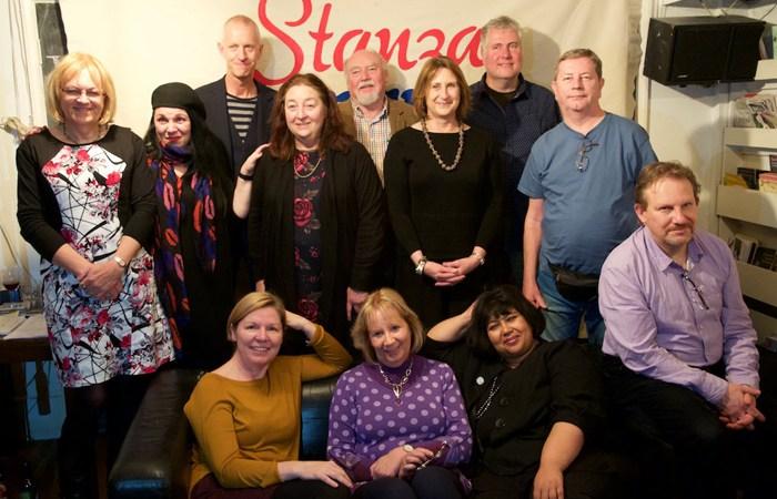 The Stanza Bonanza poets, November 2015