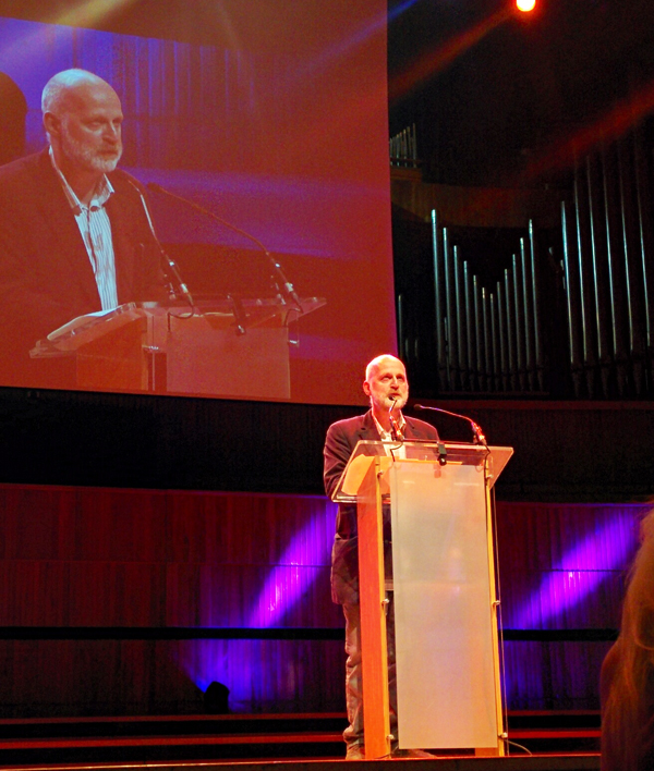 Don Paterson at the TS Eliot Prize readings