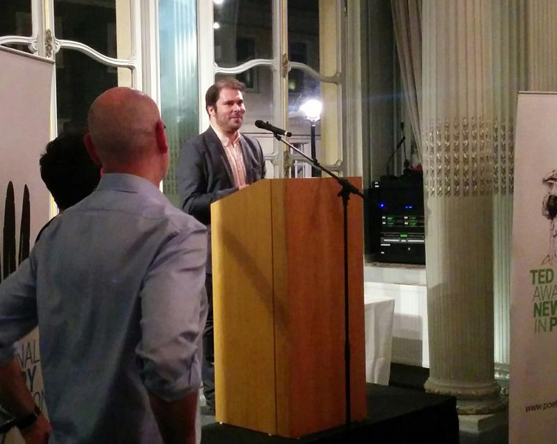 Stephen Sexton reads his winning poem