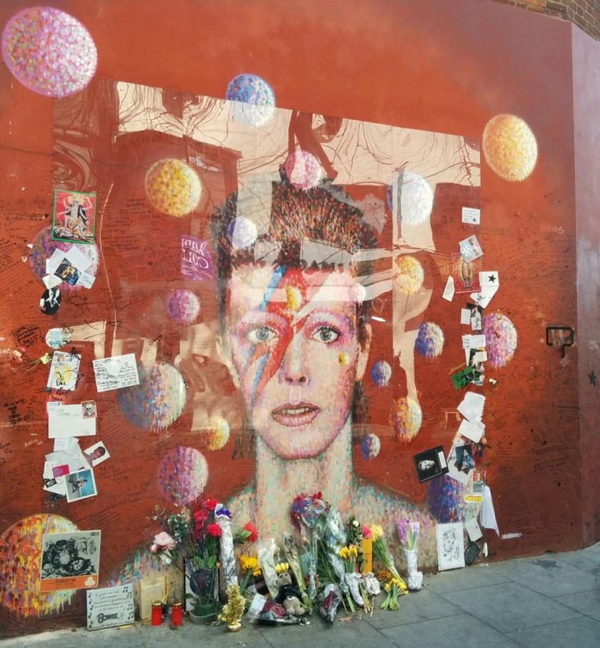 Brixton Bowie memorial