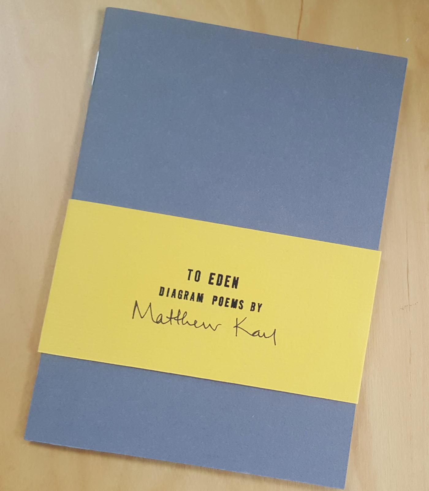 To Eden by Matthew Kay