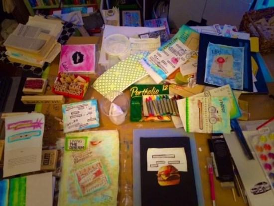 Art Studio Picture - Work Table